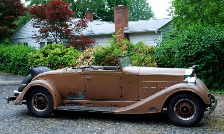 1934 Packard Eight 1101 Coupe Roadster Project