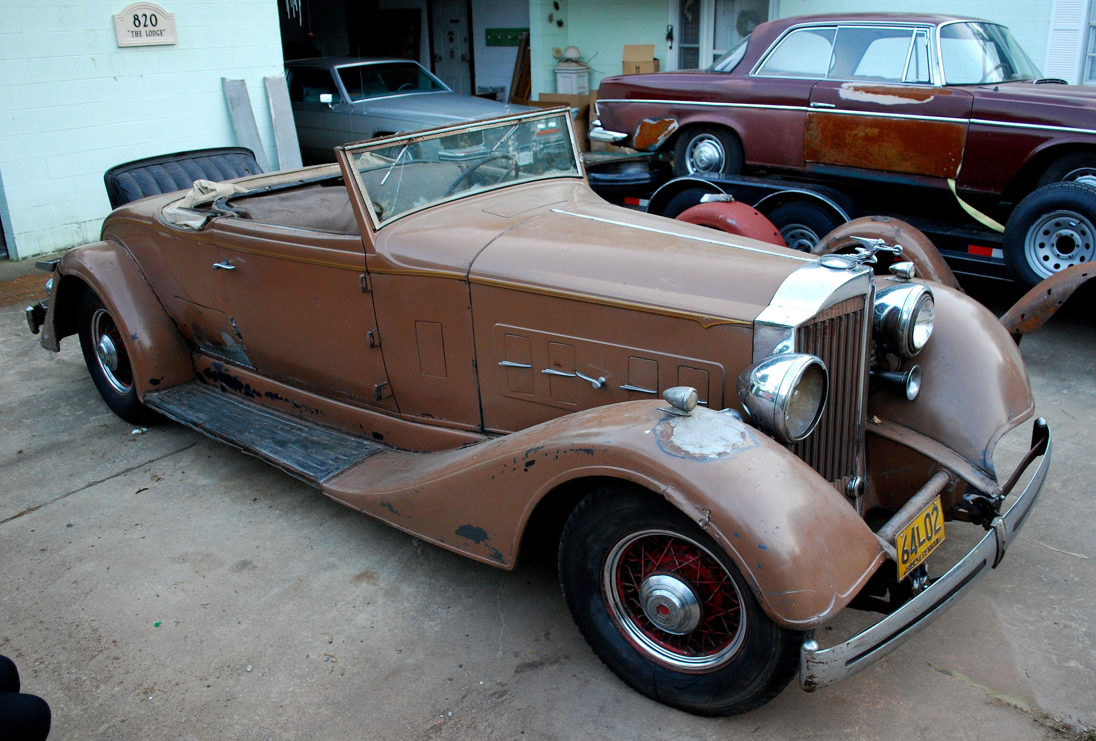 1934 Packard Twelve Model 1106 | Review | SuperCars.net