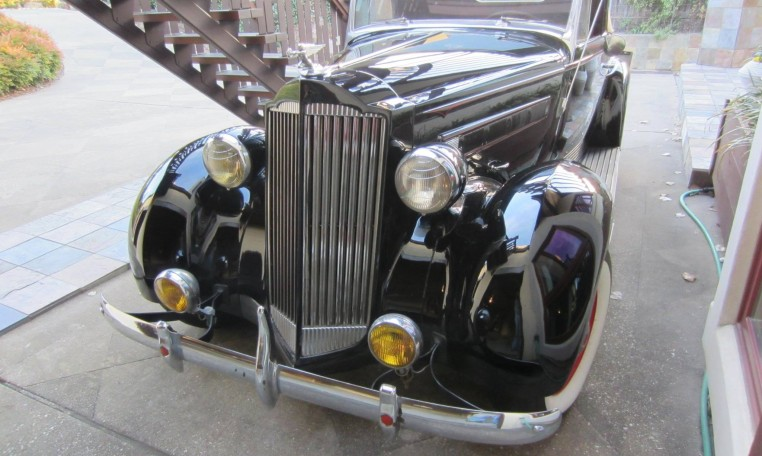 1937 Packard 115C Convertible Coupe