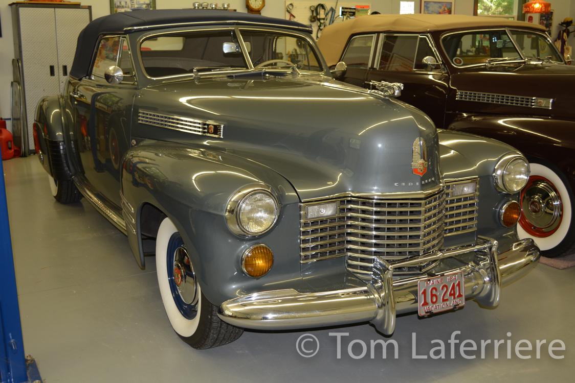 Cadillac Convertible Coupe on 1940 Cadillac V8 Engine