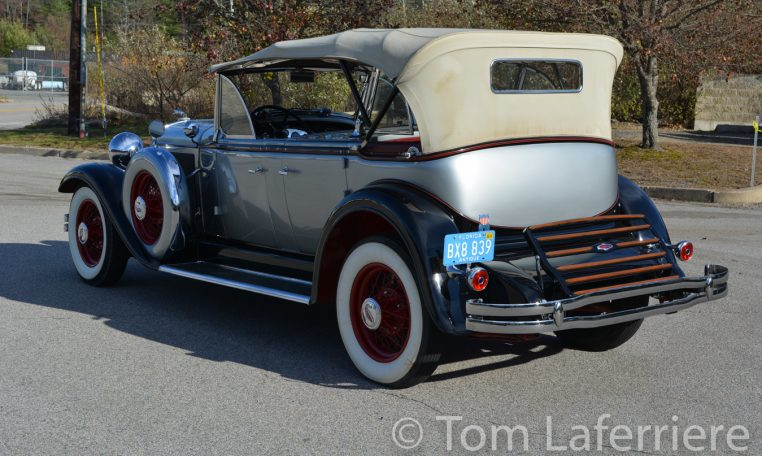 1931 Lincoln Model K Dual Cowl Phaeton