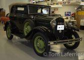 1931 Ford Model A Convertible Sedan 400-A
