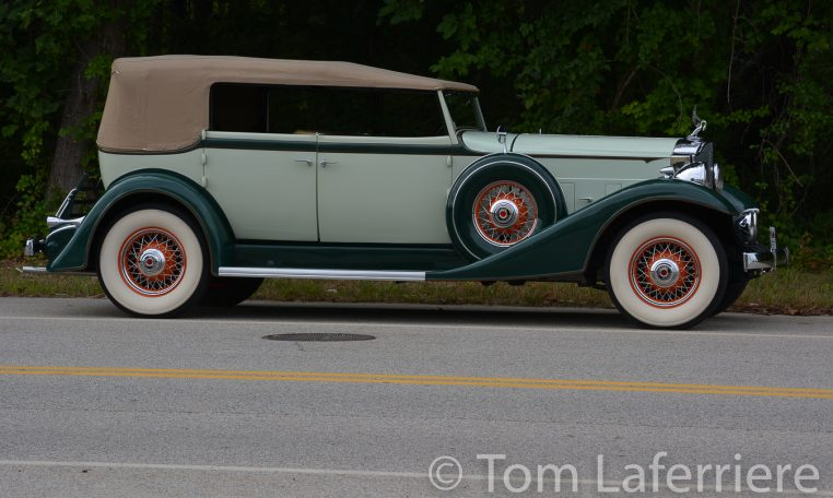 1933 Packard Eight Convertible Sedan
