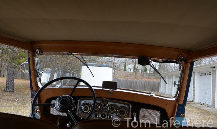 1933 Packard Eight Cabriolet Graber